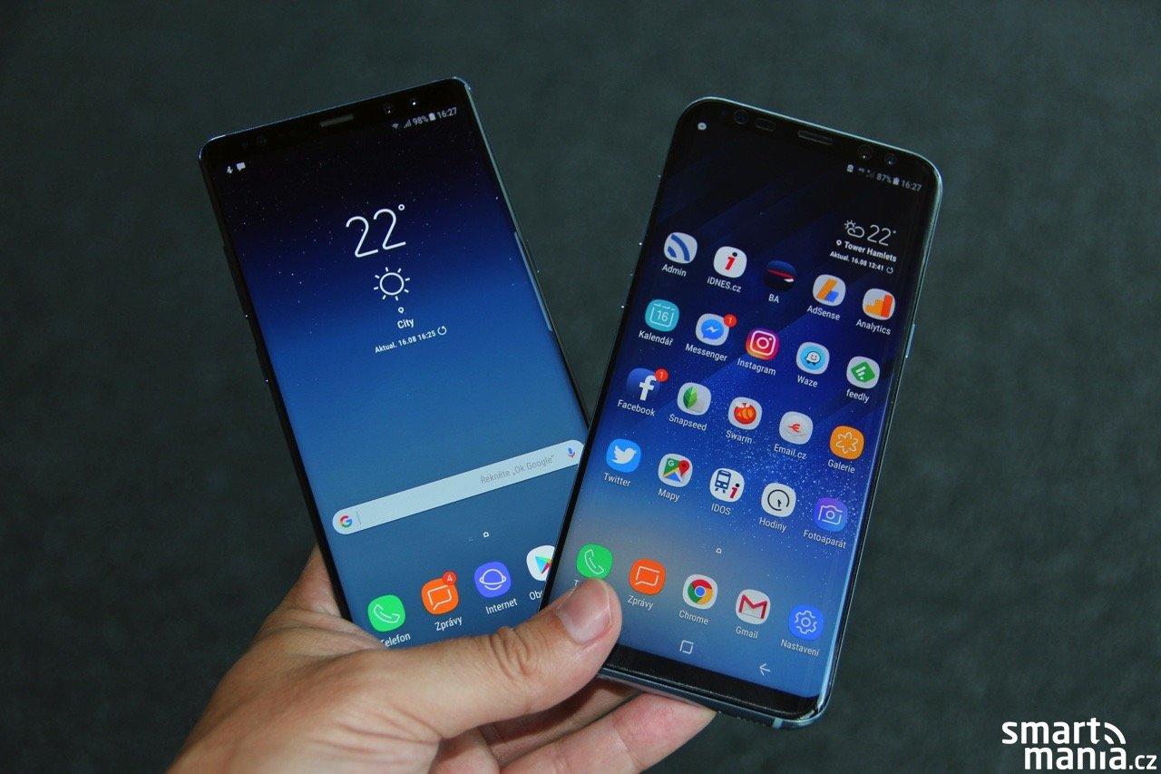 Příští aktualizace Galaxy S8 a S8+ zřejmě přinese portrétní mód pro fotoaparát