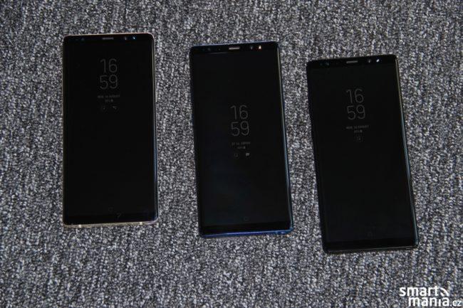 AlwaysOn displej na Galaxy Note8