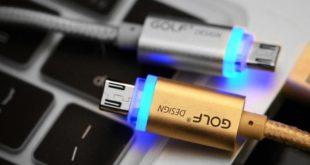USB kabely Golf: praktické a za dostupnou cenu (recenze)