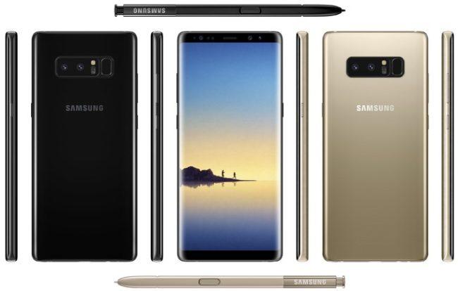 Takto bude vypadat Samsung Galaxy Note 8