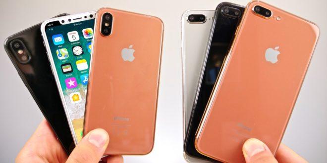 """Makety všech letošních iPhonů na jednom videu: vypadají jako """"živé"""""""