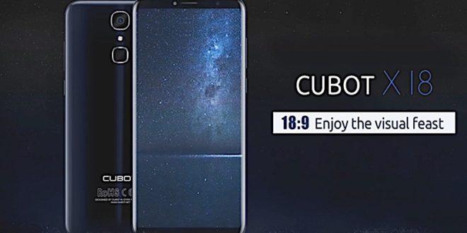 Cubot X18 ve slevě: atraktivní design, LTE a Android 7.0