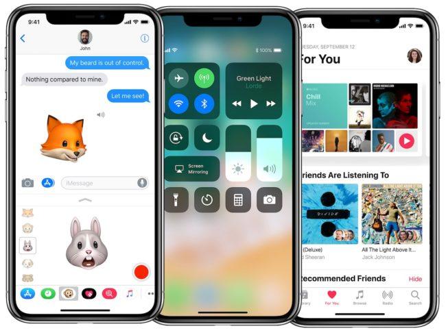 To nejlepší z dílny kalifornské společnosti: iPhone X s iOS 11. Jen s dostupností to bude komplikované.