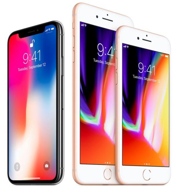 Apple dnes kromě iPhone X představil také dva klasické modely – iPhone 8 a iPhone 8 Plus