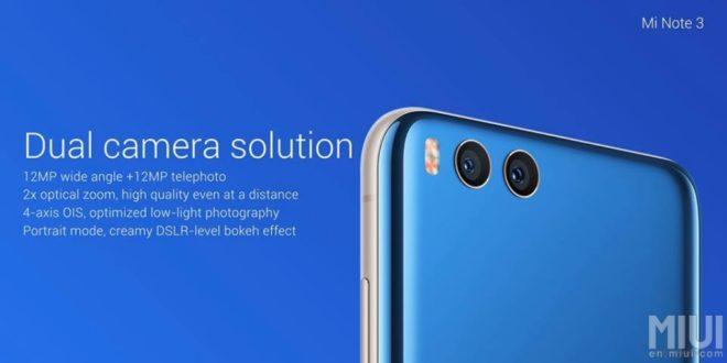 Fotoaparát Mi Note 3 zaujal redaktory DxOMark: jedná se o nejlépe fotící Xiaomi