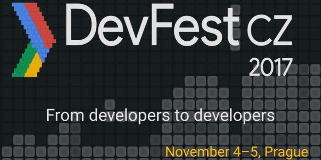 Pozvánka na letošní ročník vývojářského festivalu DevFest