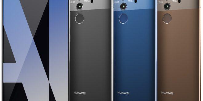 Huawei Mate 10 Pro na oficiálních snímcích, které před nedávnem unikly na internet