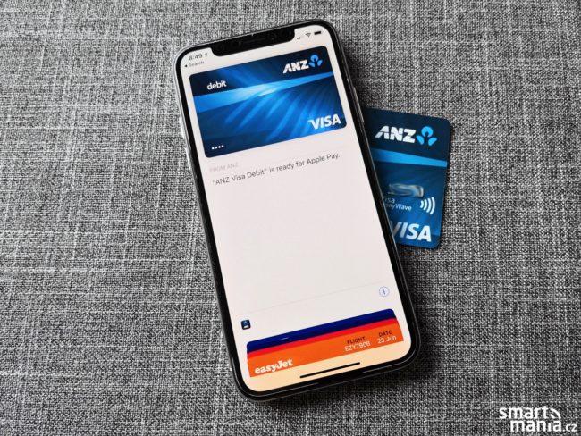 Apple Pay na iPhone X