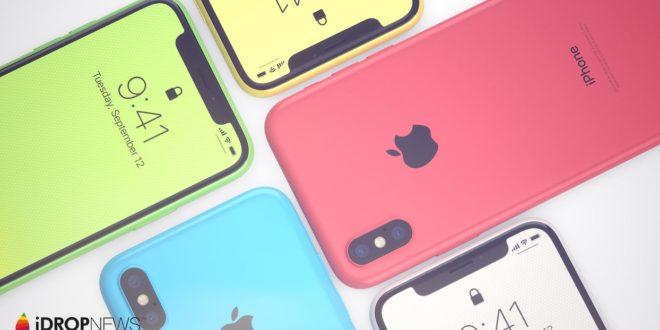 iPhone Xc: takto by vypadal výroční iPhone vplastovém těle (koncept)