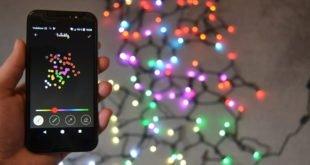 Recenze chytrých žárovek Twinkly: barevné Vánoce