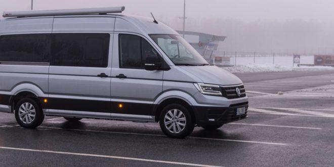 Test Volkswagen Crafter: chytřejší než osobáky