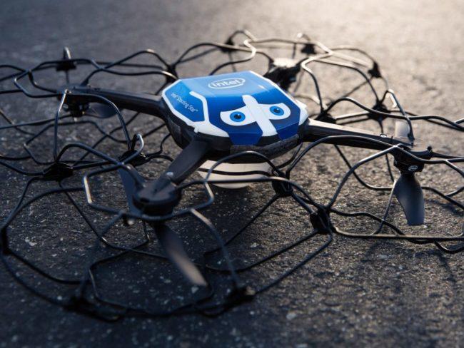 Speciální dron od Intelu upravený pro potřeby zahajovacího ceremoniálu ZOH