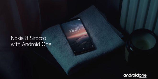 Nokia 8 Sirocco: odolná designovka vrací značku mezi elitu