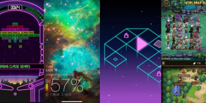 Logická hra, aplikace pro milovníky noční oblohy a další zajímavé aplikace a hry zdarma