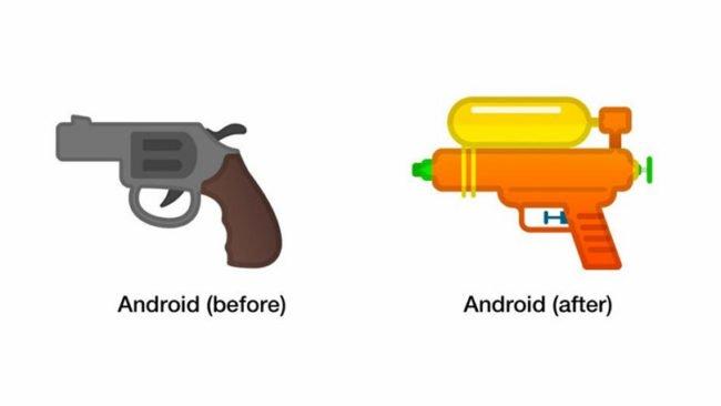 Původní podoba ikonky vs. nová s vodním zásobníkem :-)