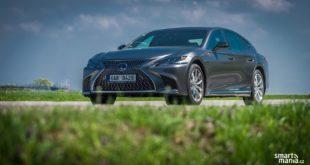 Test Lexus LS 500h: tiše a ochotně