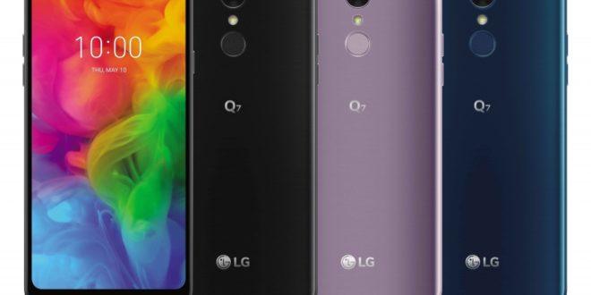 LG Q7 oficiálně: ořezané vlajkové lodi nechybí odolnost, skvělý zvuk a umělá inteligence