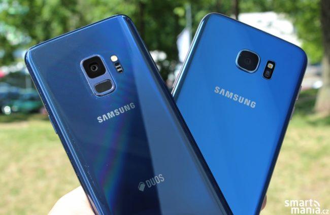 Samsung Galaxy S9 vs. Samsung Galaxy S7 edge: srovnání fotoaparátů