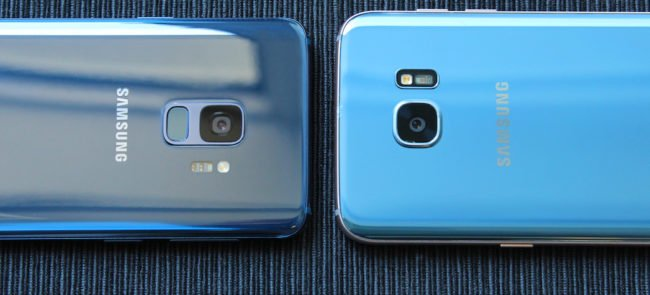 Samsung Galaxy S7 a Samsung Galaxy S9: srovnání