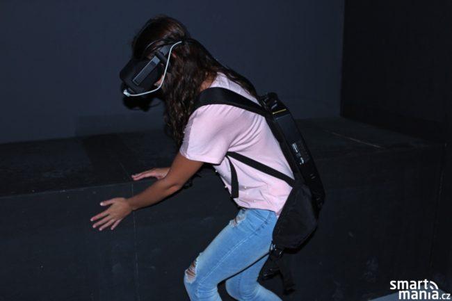 Na virtuální objekty či překážky si díky preciznímu namapování budete moci sáhnout v reálném světě, což výrazně umocňuje celkový zážitek