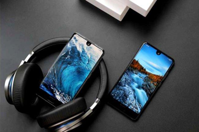 Sharp Aquos S2: první smartphone s výřezem v displeji
