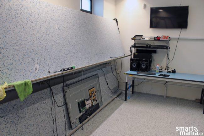 V servisním centru se neopravují jen telefony, ale také televize