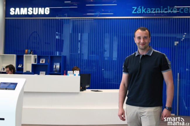 Jan Procházka, ředitel zákaznického servisu společnosti Samsung