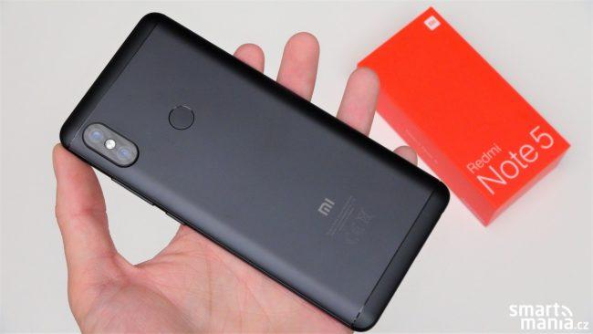 Xiaomi Redmi Note 5 recenze