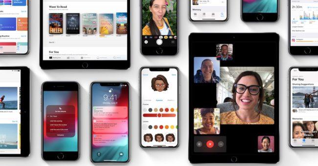 iOS 12 se nese v duchu vyšší rychlosti a lepší stability