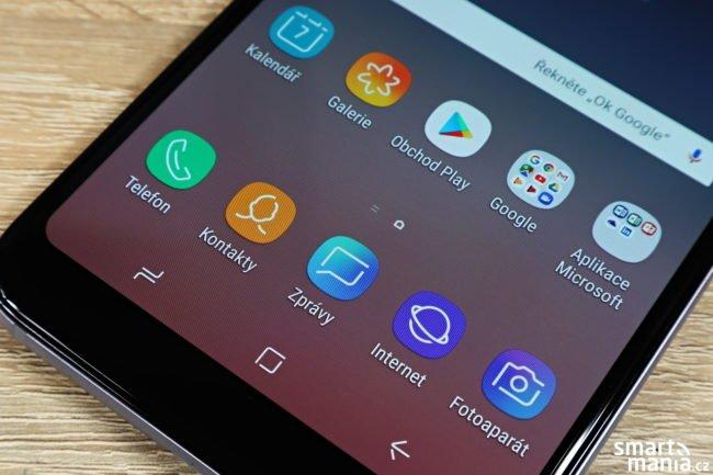 Samsung Galaxy A6+ recenze
