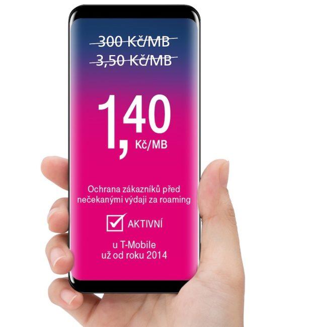 T-Mobile přichází s novou nabídkou datových tarifů pro země mimo Evropskou unii