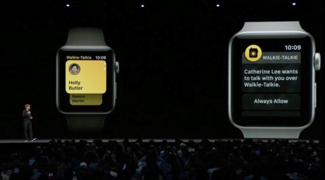 Aplikace Vysílačka pro snadnou komunikaci přes Apple Watch