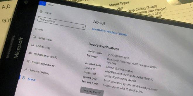 Další pokrok v oblasti Windows 10 ARM. Hackerům se podařilo zprovoznit mobilní data a reproduktory