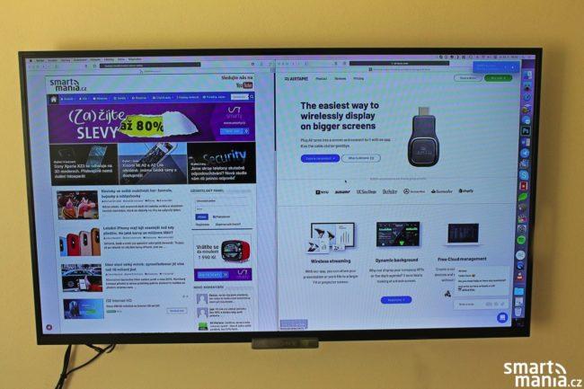 Sdílení obrazovky z iMacu přes Airtame