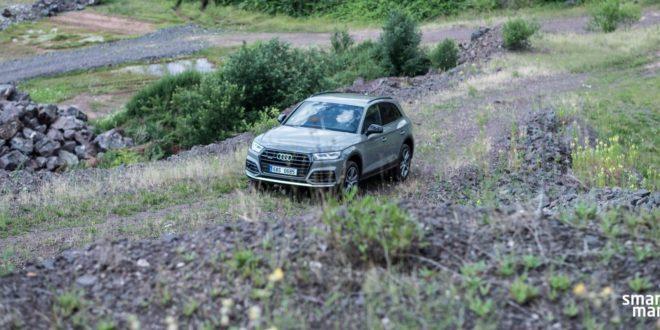Test Audi Q5: síla šesti válců