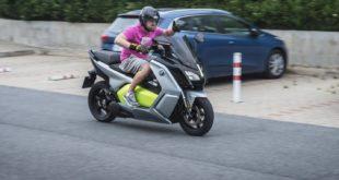 Test BMW C Evolution: ten nejrychlejší ve městě