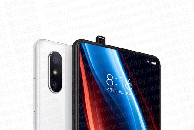 Takto by měl Xiaomi Mi Mix 3 s výsuvnou selfie kamerkou vypadat