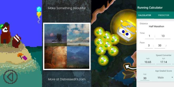 Záchrana světlušek, pomocník pro běžce a další zajímavé aplikace a hry zdarma