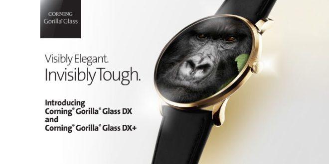 Gorilla Glass DX a DX+: nová tvrzená skla pro nositelnou elektroniku