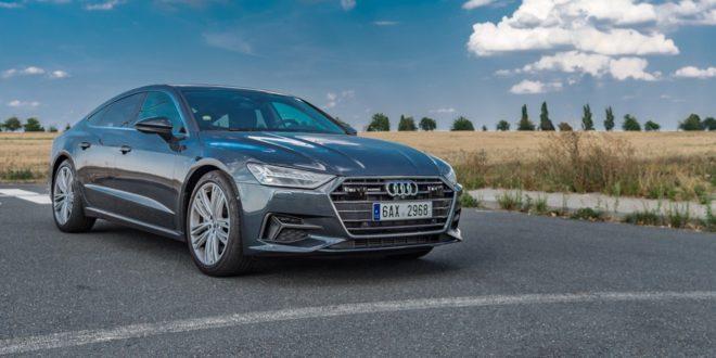 Test Audi A7: takový skoro vlajkový