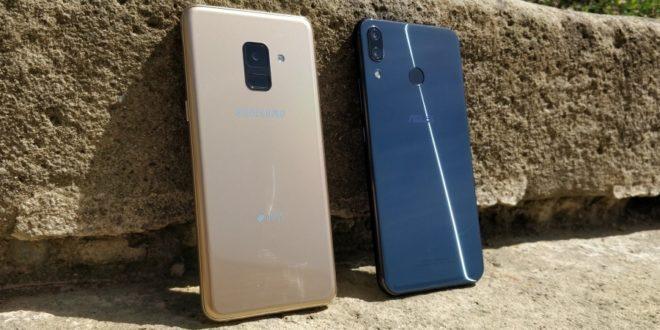 FotoDuel: Asus Zenfone 5 vs. Samsung Galaxy A8 (2018)