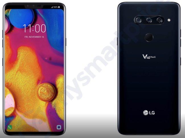 Takto bude vypadat LG V40: lákat bude na celkem pět fotoaparátů!