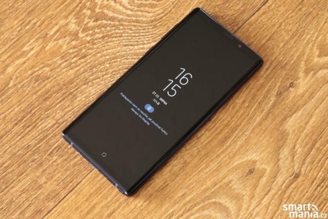 Funkce AlwaysOn na Galaxy Note 9