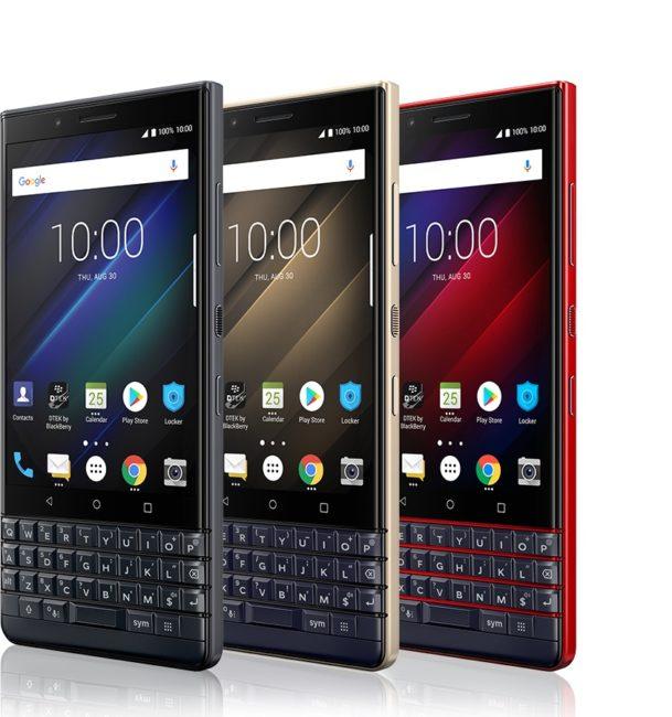 Hardwarovou klávesnici dnes najdeme pouze u smartphonů značky BlackBerry