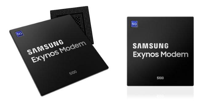 Samsung představil 5G modem Exynos 5100, dostupný bude ještě letos