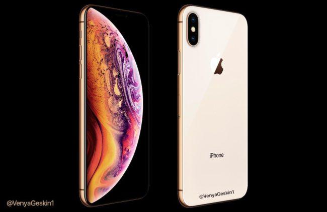 Takto by měl iPhone Xs vypadat