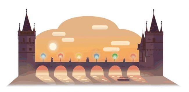 Na Googlu byl Karlův most