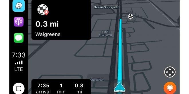 Navigace Waze pro iOS 12 konečně přidává podporu Apple CarPlay