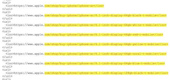 iPhone Xr má být dostupný v černé, bílé, červené, žluté, korálové a modré barvě.