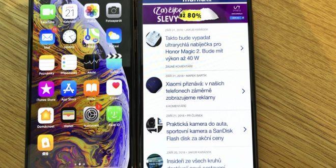 iPhone Xs Max má nejlepší displej na trhu, uvádí DisplayMate